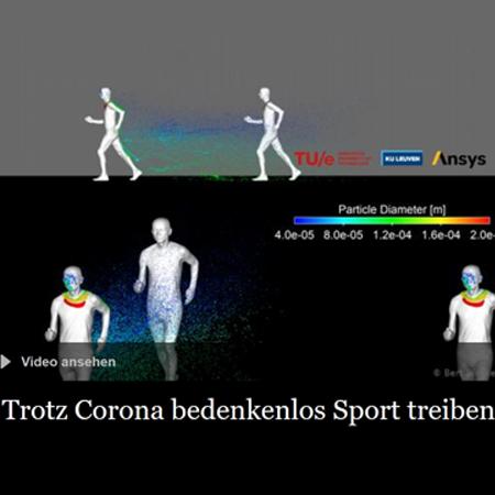 Joggen, Radfahren und Inlineskaten im Freien in Zeiten des Coronavirus