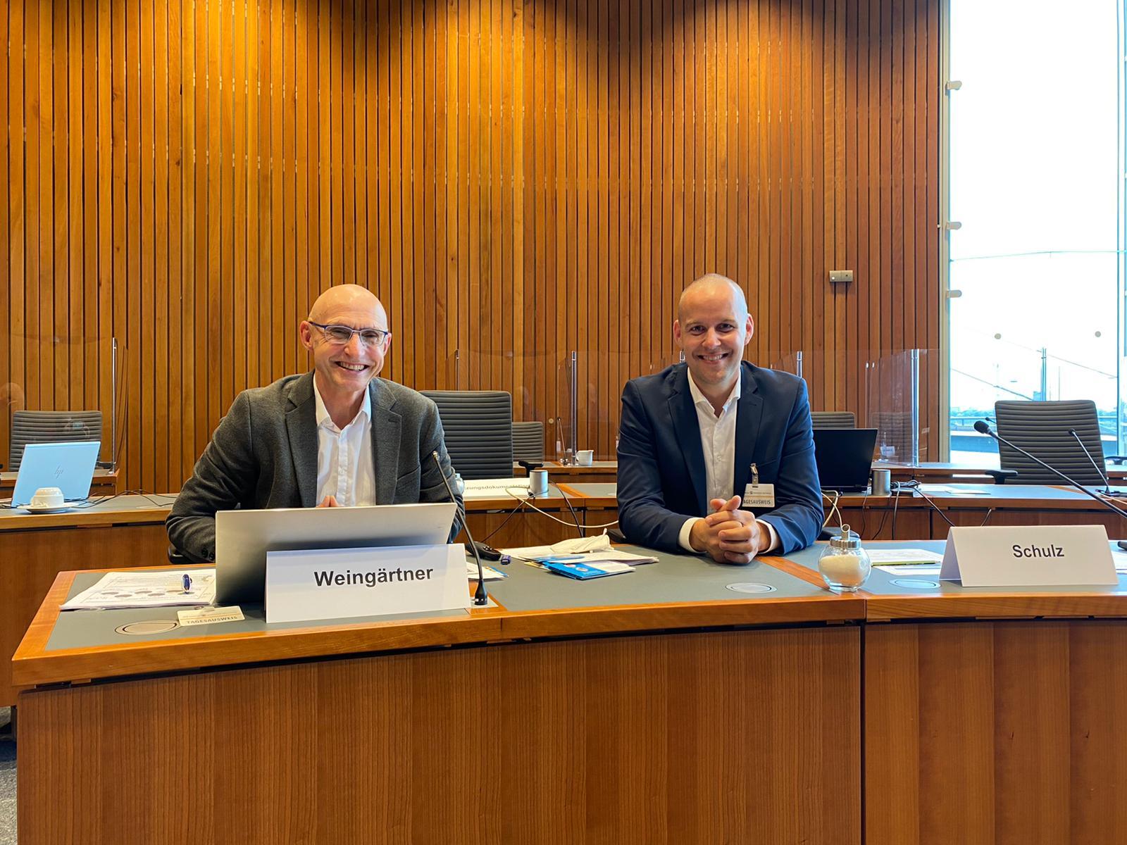 Stiftung stellt dem Sportausschuss NRW Projektergebnisse vor