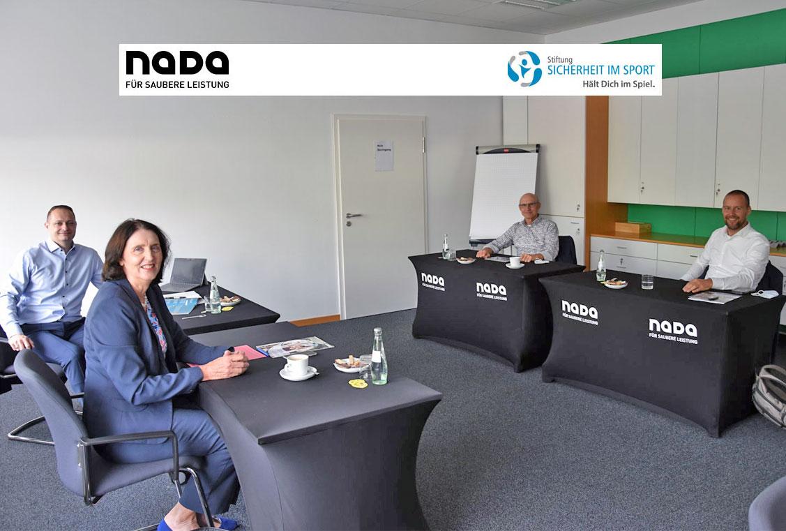 Stiftung zu Gast bei der NADA
